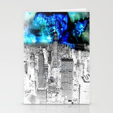 New York Nebula  Stationery Cards