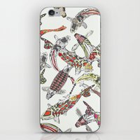 lucky koi off white iPhone & iPod Skin