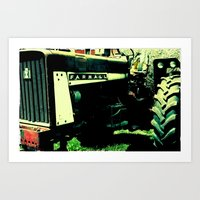 Tractor Time Art Print