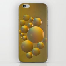Distant moon. iPhone & iPod Skin
