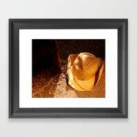 Cowboy City Framed Art Print