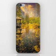 The Pond iPhone & iPod Skin