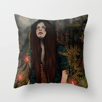 The Keepers - Guiding Lights Throw Pillow