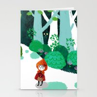Red Riding Hood And The … Stationery Cards