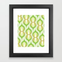 Modernco - Green Framed Art Print