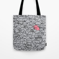Word 2 the Herd v1 Tote Bag
