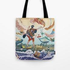 Ukiyo-e tale: The legend Tote Bag