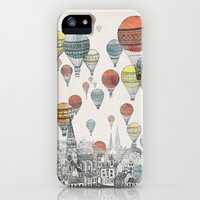 iPhone 5/5s Case featuring Voyages over Edinburgh by David Fleck