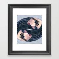 L'harmonie Framed Art Print