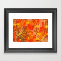 Ode to Autumn Framed Art Print