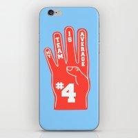 Foam Finger iPhone & iPod Skin