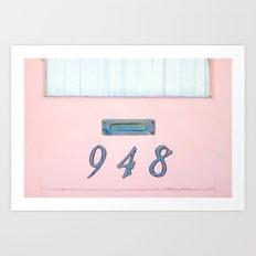 Every Letter Art Print
