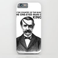 iPhone & iPod Case featuring ONE-EYED KING  by Toro Lobo