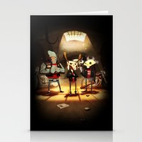 Hell's Mate Stationery Cards