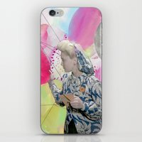 FLOWERS OR LOVERS iPhone & iPod Skin