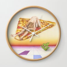 Pizza 69 Wall Clock