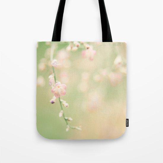Fresh Mint Kisses Tote Bag