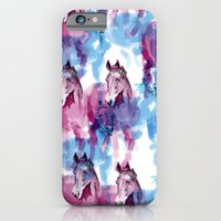 Two horses iPhone 6 Slim Case