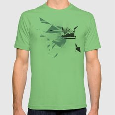Badaboom! Mens Fitted Tee Grass SMALL