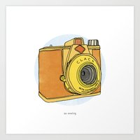 So Analog Art Print
