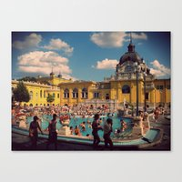 Turkish Baths Canvas Print