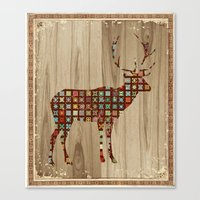 Stag 1 Canvas Print