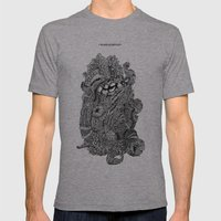Nyarlathotep Mens Fitted Tee Athletic Grey SMALL