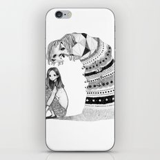 Lonely Monster iPhone & iPod Skin