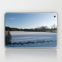 Snowy Lake Laptop & iPad Skin