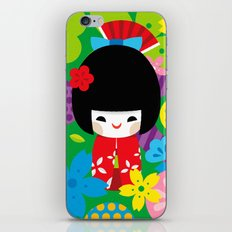 Kokeshi iPhone & iPod Skin
