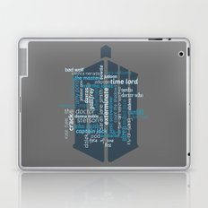 Doctor Who: Friends and Enemies Laptop & iPad Skin