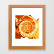 Citrus Burst Framed Art Print