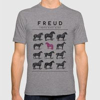 FREUD Mens Fitted Tee Athletic Grey SMALL
