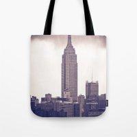 Urban Storm Tote Bag
