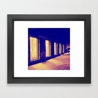 Imperfect Division Framed Art Print