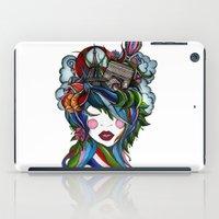 Paris Girl iPad Case
