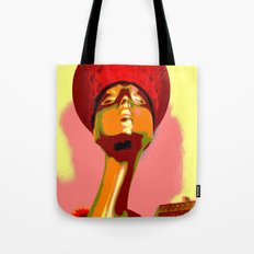 Vintage: The Zulu Hat Tote Bag