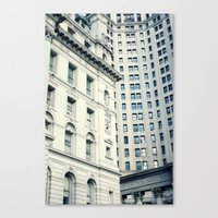 NYC Downtown Buildings, … Canvas Print