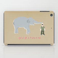 Elephant Friends iPad Case