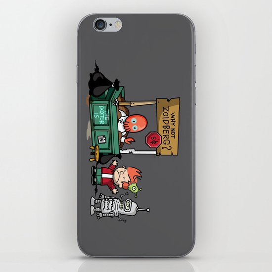 The Doctor is In.... Why not Zoidberg? iPhone & iPod Skin