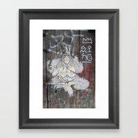 Orangutan Framed Art Print