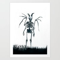 The Jersey Devil Is My F… Art Print