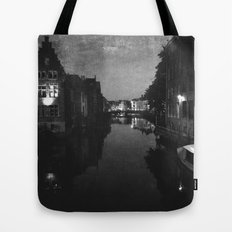 late night in Ghent  Tote Bag