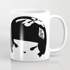 Kokeshi Head Logo Design Mug