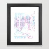 Interurban Framed Art Print
