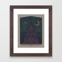 Mount Death Framed Art Print