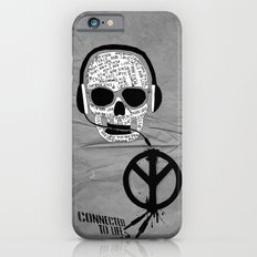 Love' skull -  a collaboration between Sam Guilhen and Gwenola de Muralt - Slim Case iPhone 6s