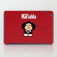 Coupling Up Mafialda iPad Case