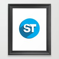 Supreme Social Theme  Framed Art Print