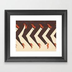 Girls and Boys Framed Art Print